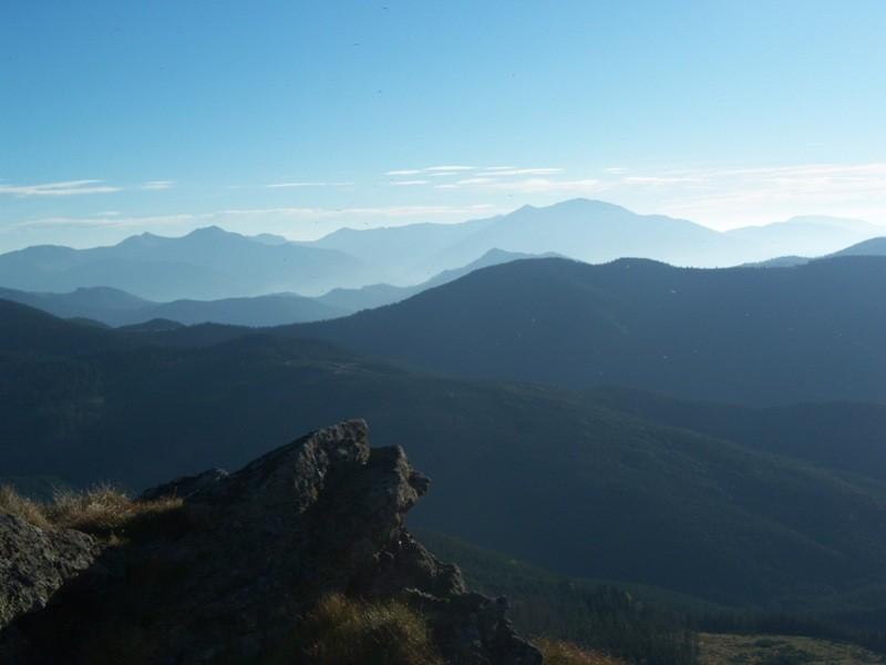 Zdjęcia: Karpaty Marmaroskie, Karpaty Wschodnie, Panoramka, RUMUNIA