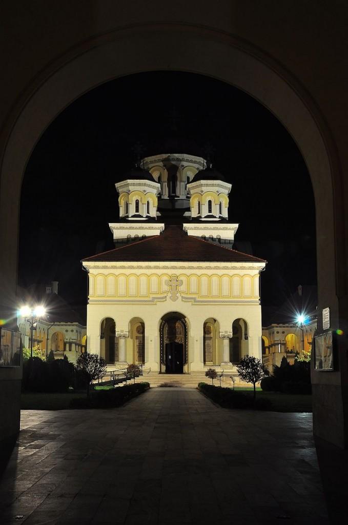 """Zdjęcia: Alba Iulia, Okręg Alba, Cerkiew w """"łókó"""", RUMUNIA"""