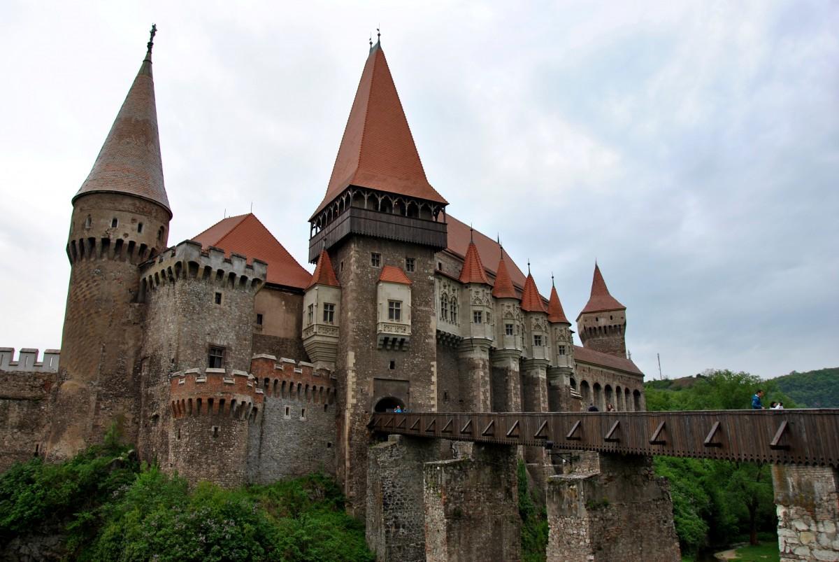 Zdjęcia: Hunedoara, Siedmiogród, Zamek, RUMUNIA