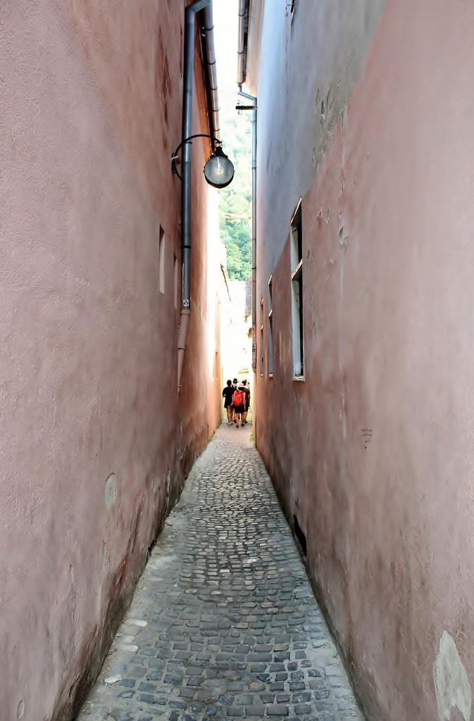 Zdjęcia: Braszów, Siedmiogród, Naprawdę wąska, RUMUNIA