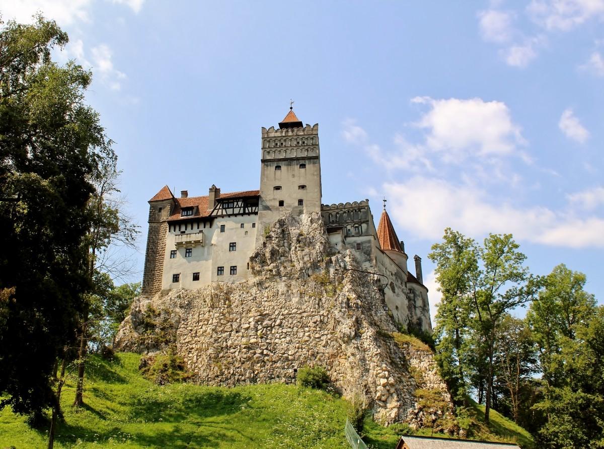 Zdjęcia: Bran, Siedmiogród, Zamek w Branie z XIV wieku, RUMUNIA