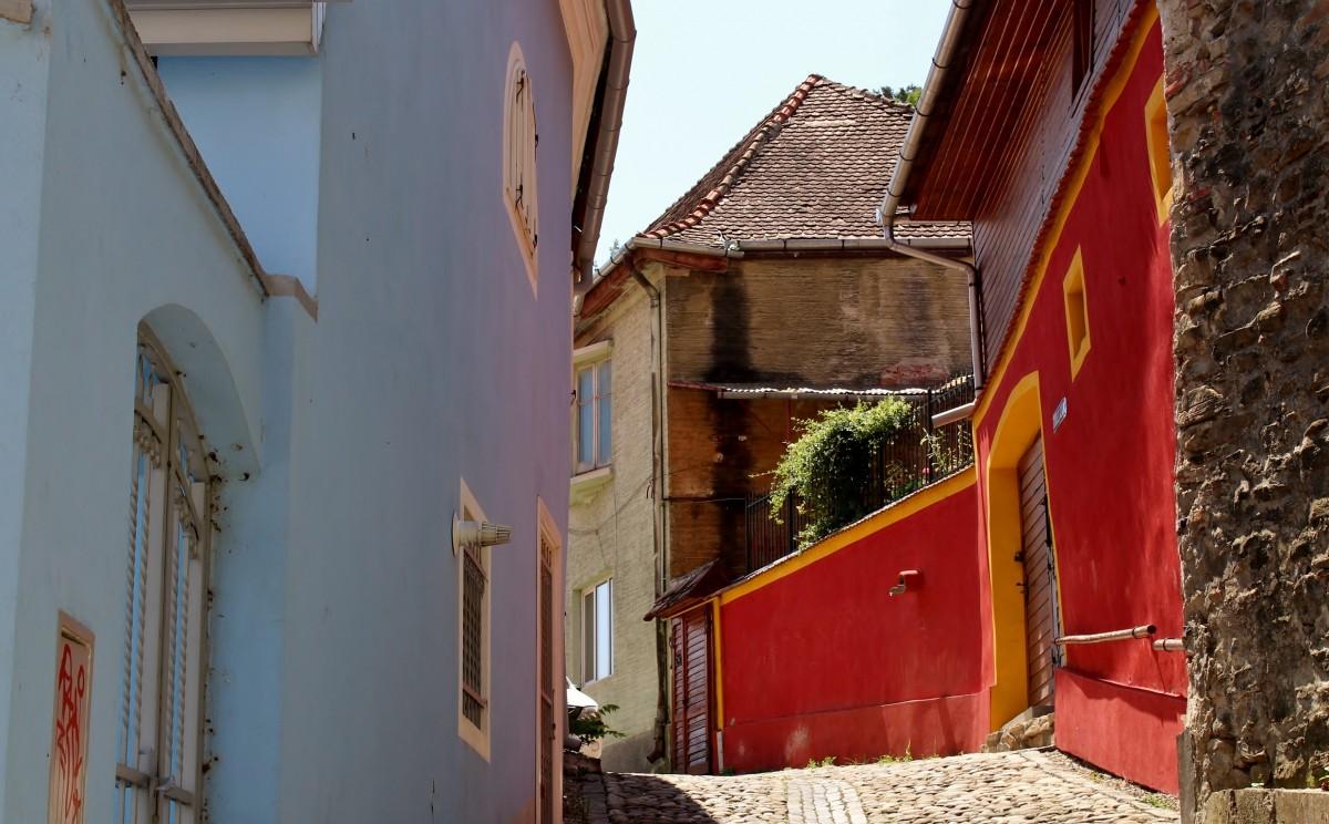 Zdjęcia: Sighișoara, Siedmiogród, Uliczki Sighișoary, RUMUNIA