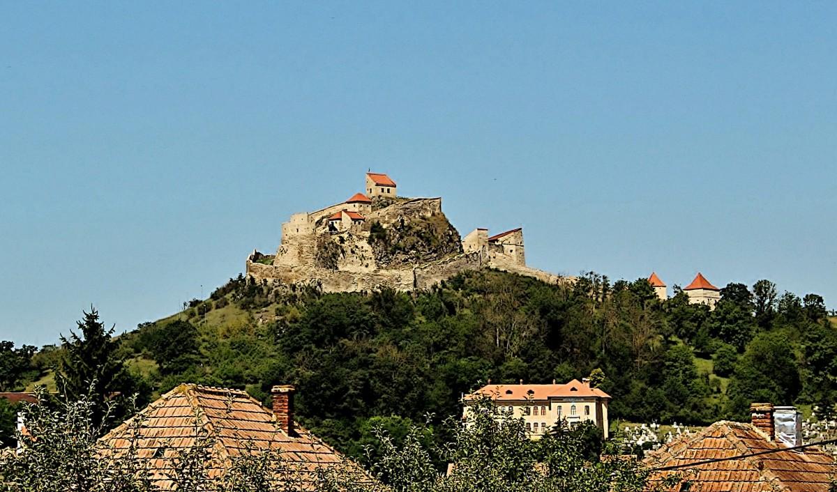 Zdjęcia: Rupea, Siedmiogród, Zamek chłopski z XIII wieku, RUMUNIA