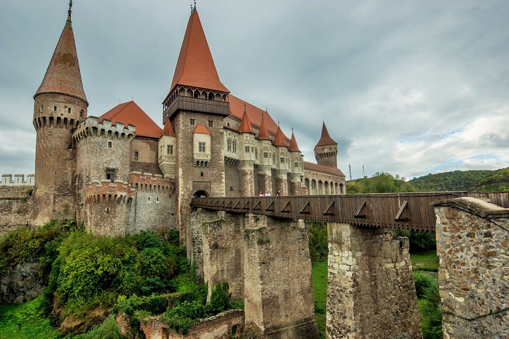 Zdjęcia: Hunedoara, Transylwania, Zamek w Hunedoarze, RUMUNIA