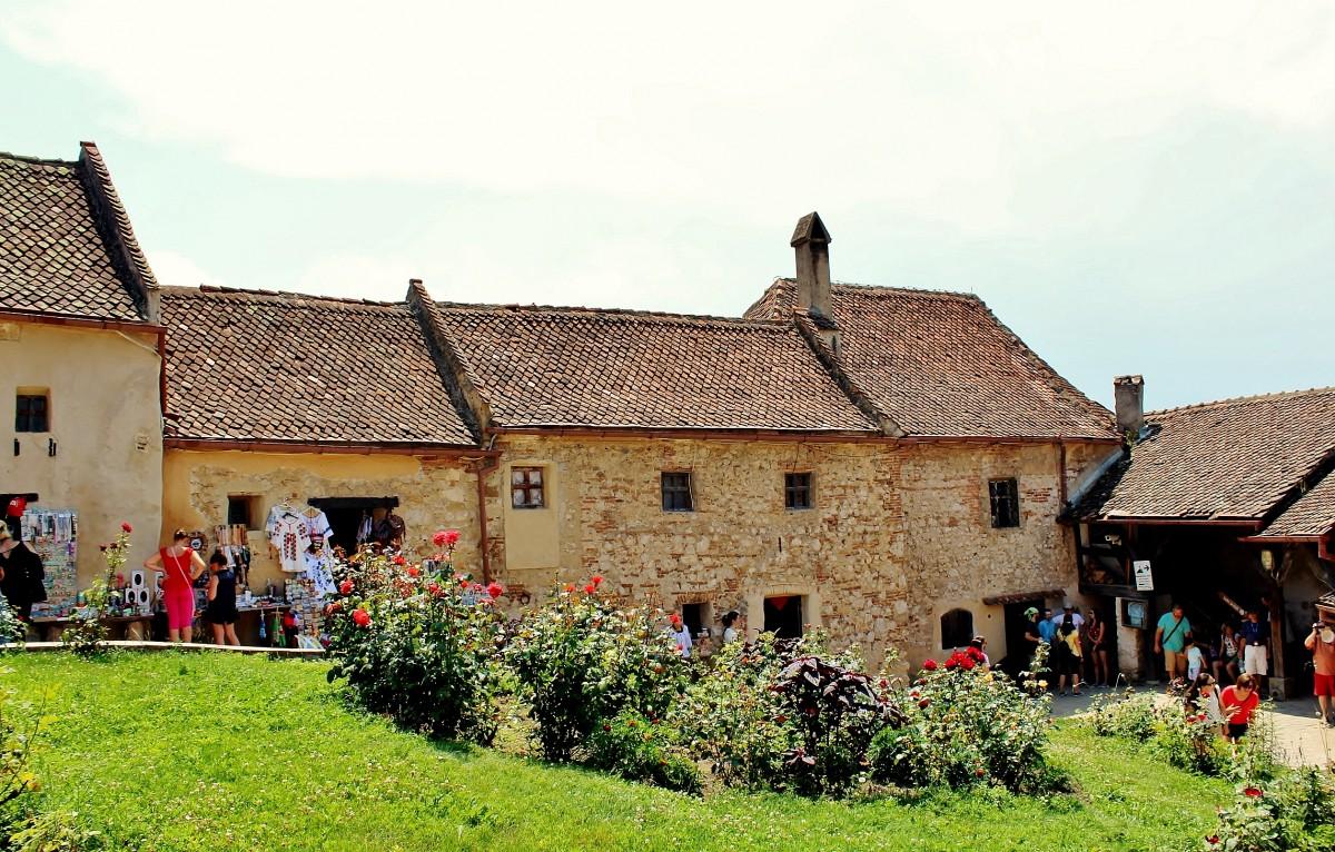 Zdjęcia: Râșnov, Siedmiogród, Zamek chłopski w Râșnov, RUMUNIA