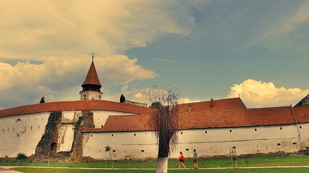 Zdjęcia: Prejmer, Siedmiogród, W Prejmer, RUMUNIA