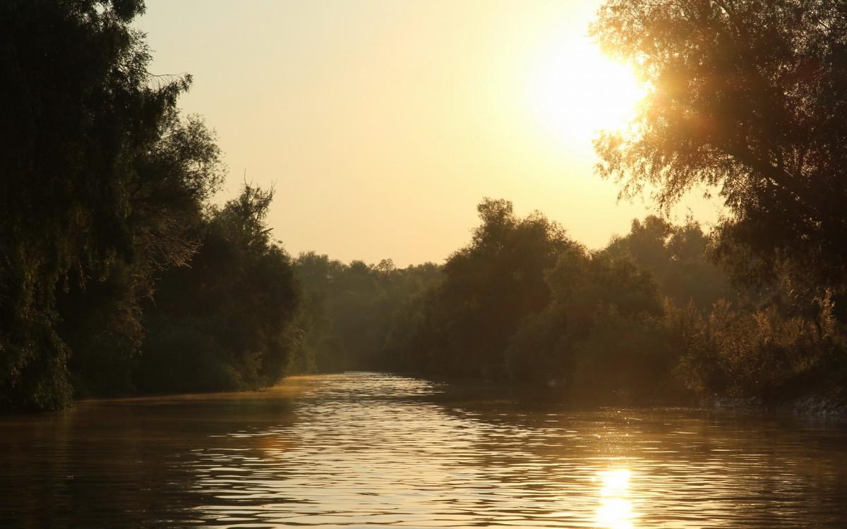 Zdjęcia: Delta Dunaju, Poranek w Delcie Dunaju, RUMUNIA