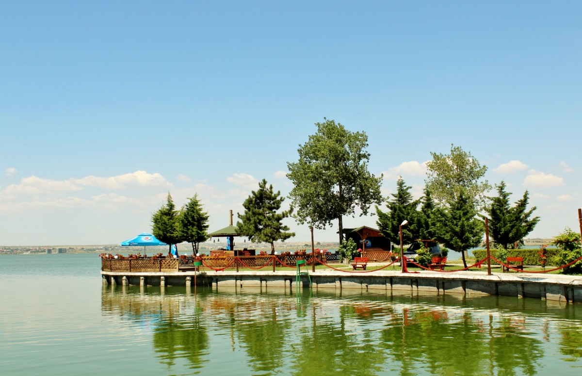 Zdjęcia: Mamaia, Dobrudża, Nad jeziorem Siutghiol, RUMUNIA