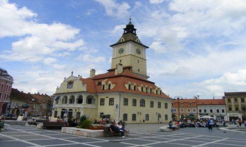 RUMUNIA / Transylwania / Braszow / Ratusz