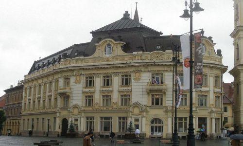 Zdjecie RUMUNIA / Transylwania / Sybin / Pałac Brukenthala