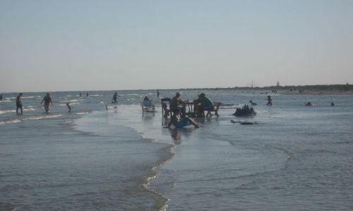 Zdjecie RUMUNIA / delta dunaju / Sulina / na plaży