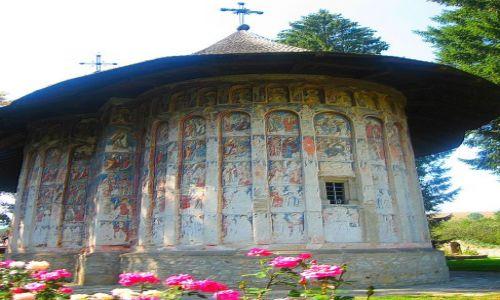 Zdjecie RUMUNIA / Mołdawia / Humorului / malowane klasztory rumuńskiej Mołdawii