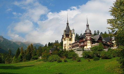 Zdjecie RUMUNIA / Transylwania / Sinaia / bajkowy pałac królewski