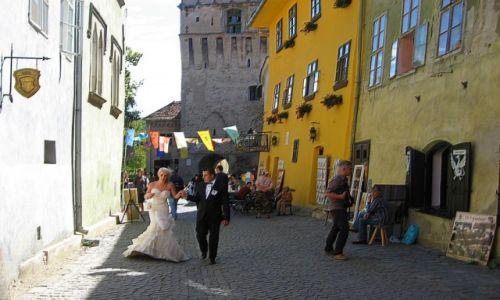 Zdjecie RUMUNIA / Transylwania / Sighisoara / zakątki Starego Miasta