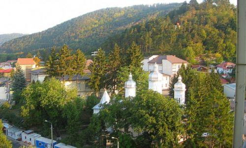 Zdjecie RUMUNIA / Mołdawia / Piatra Neamt / widok z balkonu