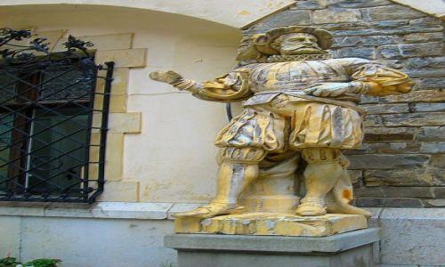 Zdjęcie RUMUNIA / Transylwania / Sinaia / ozdobne elementy zamku Peles