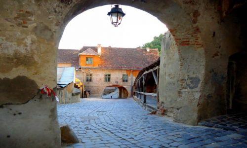 Zdjecie RUMUNIA / Transylwania / Sighisoara / najstarsze zabytki Starego Miasta