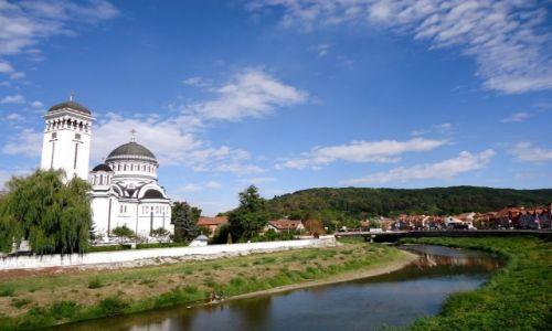 Zdjecie RUMUNIA / Transylwania / Sighisoara / nad Wielką Tyrnawą