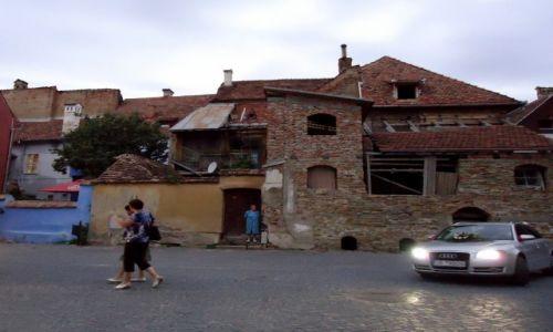 Zdjecie RUMUNIA / Transylwania / Sighisoara / tu już nie jest tak pięknie...