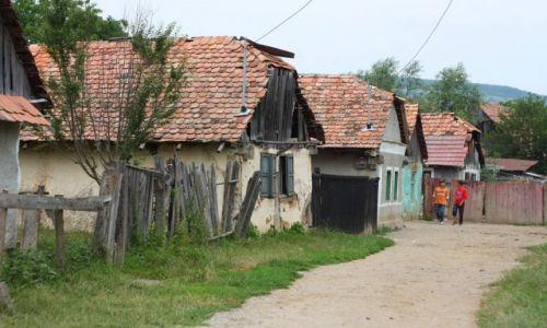 Zdjecie RUMUNIA / Transylwania / Viscri / Rumuńska wioska