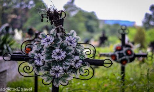 RUMUNIA / Maramuresz / Huta Certeze / Cmentarz