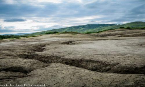 Zdjęcie RUMUNIA / Buzau / Noirisi / Błotne wulkany