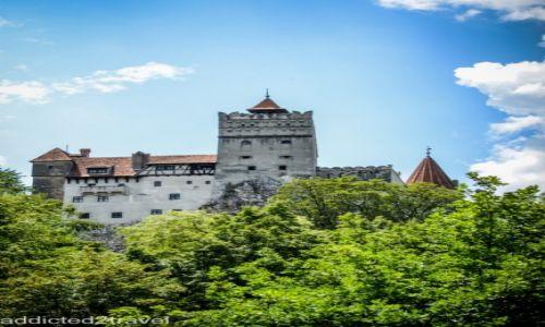 RUMUNIA / Transylwania / Bran / Zamek Drakuli w Branie