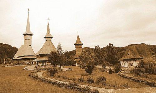 Zdjecie RUMUNIA / Maramures / Barsana / Cerkwie w Barsa