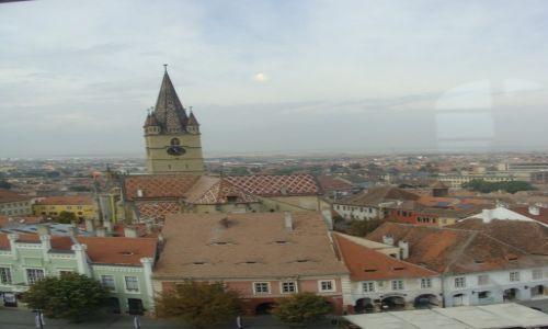 Zdjecie RUMUNIA / Transylwania / Sibiu / Widok na miasto