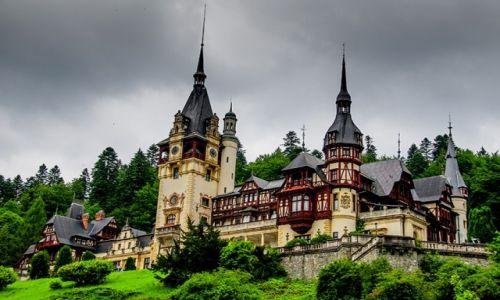 RUMUNIA / - / Sinaia / zamek Peleş kolejna odsłona
