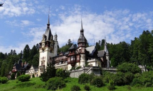 Zdjęcie RUMUNIA / Brașov / Sinaia / Castelul Peleş