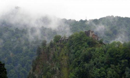 Zdjecie RUMUNIA / Argeș / droga krajowa DN7C / Dymiące Poenari
