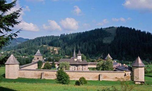 Zdjecie RUMUNIA / Bukowina / Sucevita / klasztor Sucevi