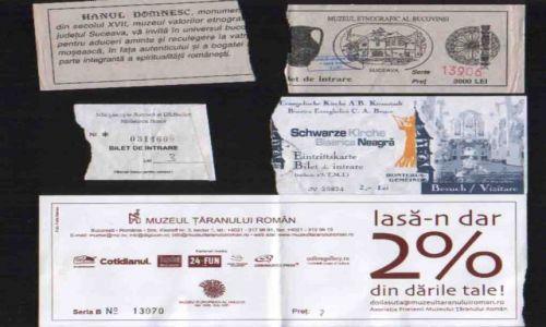 Zdjecie RUMUNIA / brak / Bukareszt, Suczawa, Braszów / Bilety wstępu