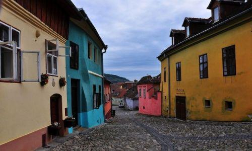 Zdjęcie RUMUNIA / środkowa Rumunia / Sigishoara / Pastele