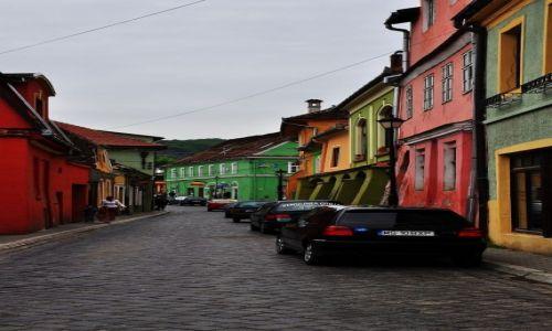 Zdjęcie RUMUNIA / środkowa Rumunia / Sigishoara / Uliczka