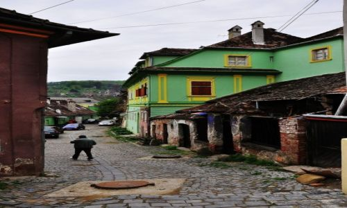 Zdjecie RUMUNIA / środkowa Rumunia / Sigishoara / Strzeż się tcyh miejsc...