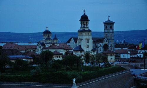 Zdjęcie RUMUNIA / Okręg Alba / Alba Iulia / Zmierzch