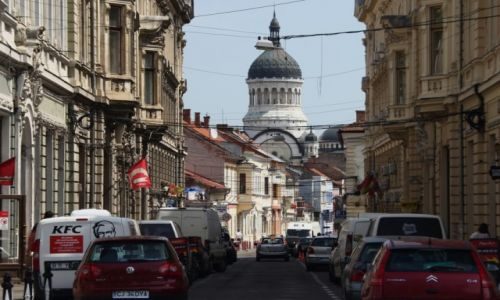 Zdjecie RUMUNIA / Północ / Kluż Napoka / Rynek Rumuński