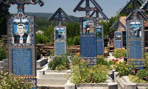 Zdjęcie RUMUNIA / Północ / Sapanta / Wesoły Cmentarz