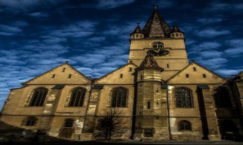 Zdj�cie RUMUNIA / Transylwania / Sibiu / Sybin Noc�