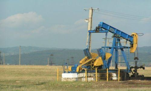 Zdjęcie RUMUNIA / Munteania / Filasi / Ropa jest tuż pod ziemią