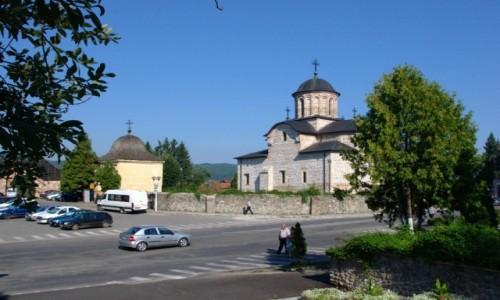 Zdjecie RUMUNIA / Okręg Arges / Curtea de Arges / Cerkiew Książęca