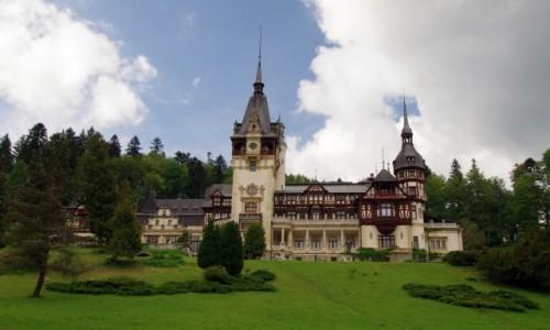 Zdjecie RUMUNIA / Okręg Prahova / Sinaia / Castelul Peleş