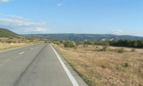 Zdjecie RUMUNIA / Munteania / Moldova Neu / Droga marzeń