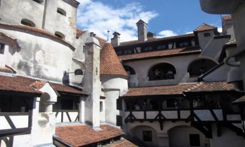 Zdjęcie RUMUNIA / Transylwania / Bran / Rzeźbione w bieli