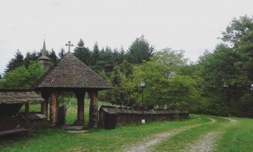 Zdjecie RUMUNIA / Marmarosz / Syhot Marmaroski / Wej�cie do cerk