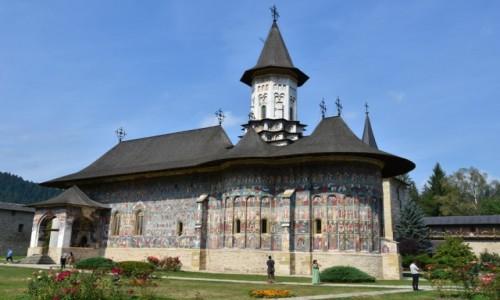 RUMUNIA / Bukowina  / Suczewica / Cerkiew Zmartwychwstania Pańskiego