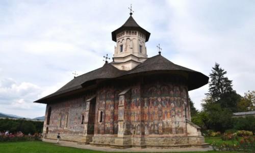 Zdjęcie RUMUNIA / Bukowina  / Monastyr Mołdovita / Cerkiew Zwiastowania Bogurodzicy