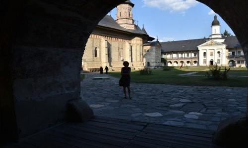 Zdjecie RUMUNIA / Bukowina  / okolice Targu Neamt / Brama do Monast